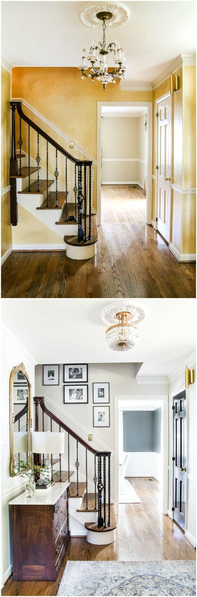 How to Hang the Perfect Gallery Wall   blesserhouse.com - How to Hang the Perfect Gallery Wall   blesserhouse.com - 5 tips to make a gallery wall look polished and one simple trick to make it quick and easy to plan. #gallerywall #walldecor #foyer #entryway