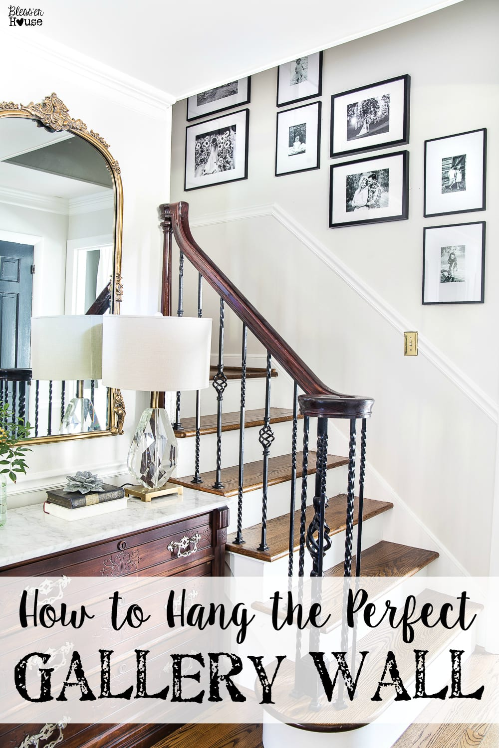 How To Hang The Perfect Gallery Wall Blesserhouse