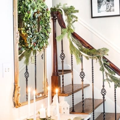 Classic Christmas Foyer