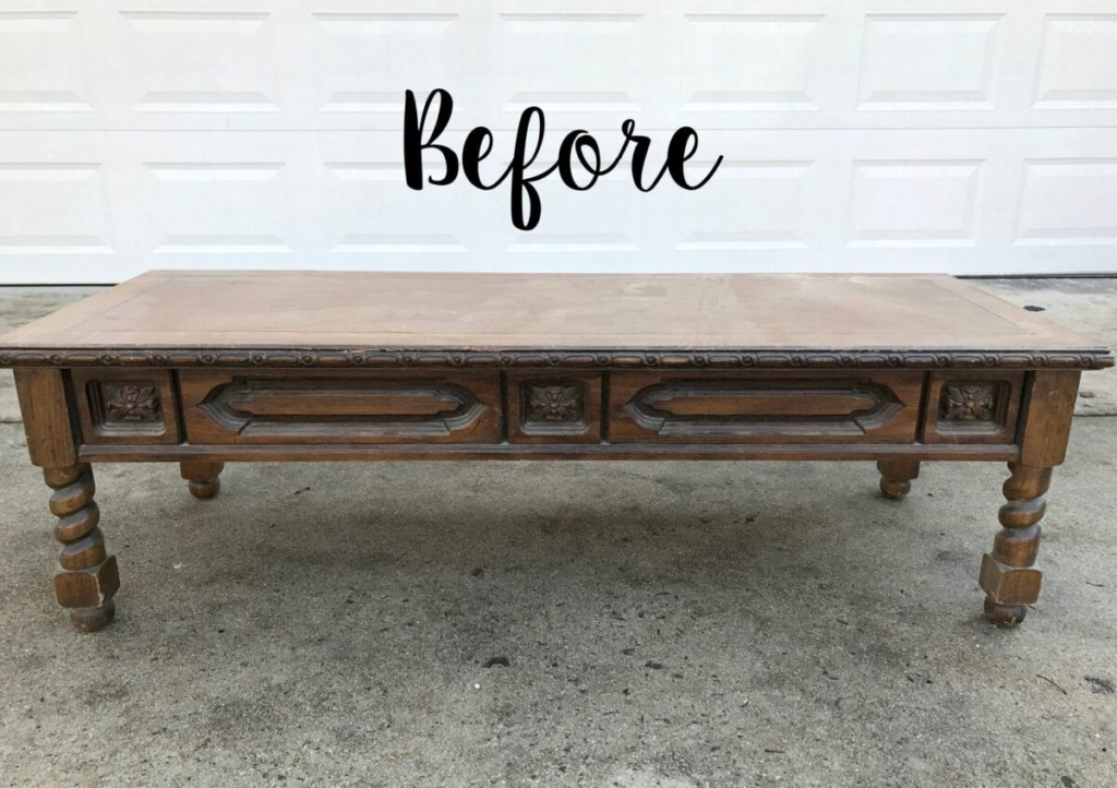 must-have thrift store staple : old coffee tables
