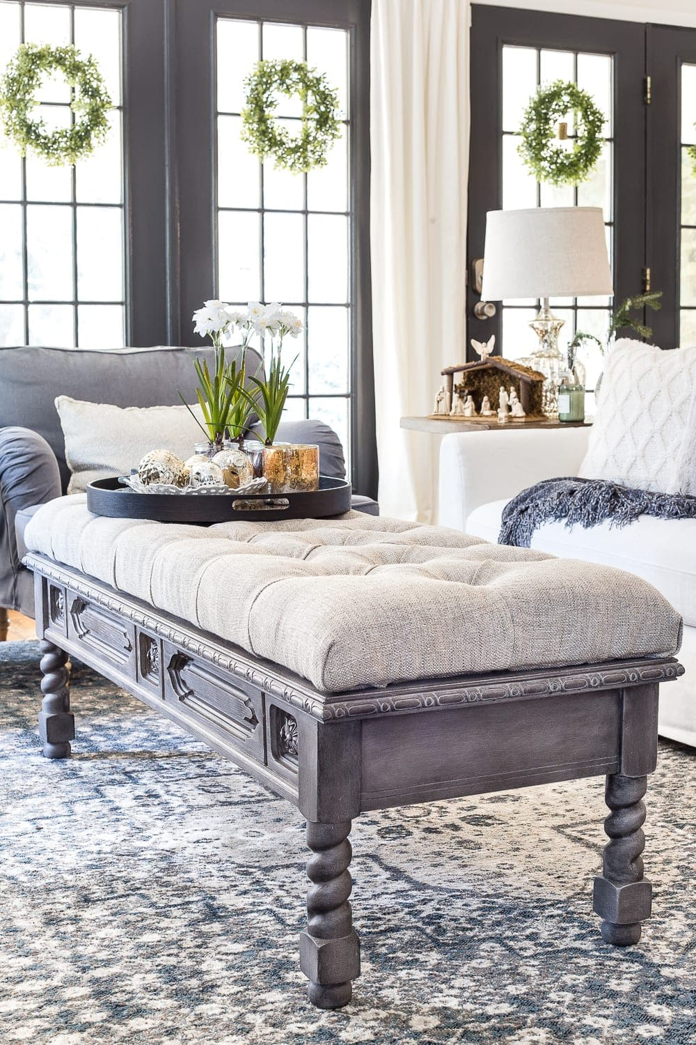 Ottoman Coffee Table On Photo of Creative