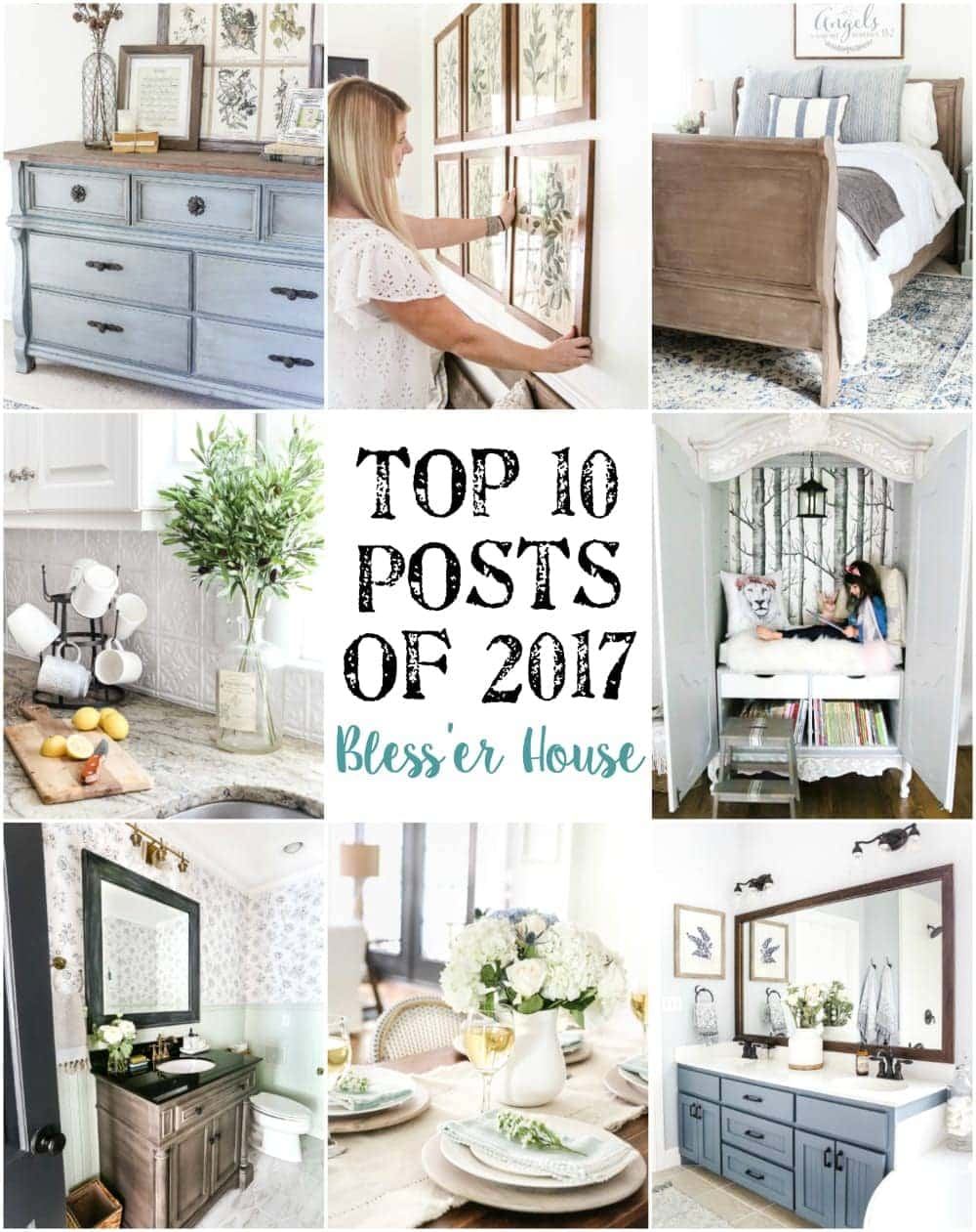 Top 10 Posts of 2017 - Bless\'er House