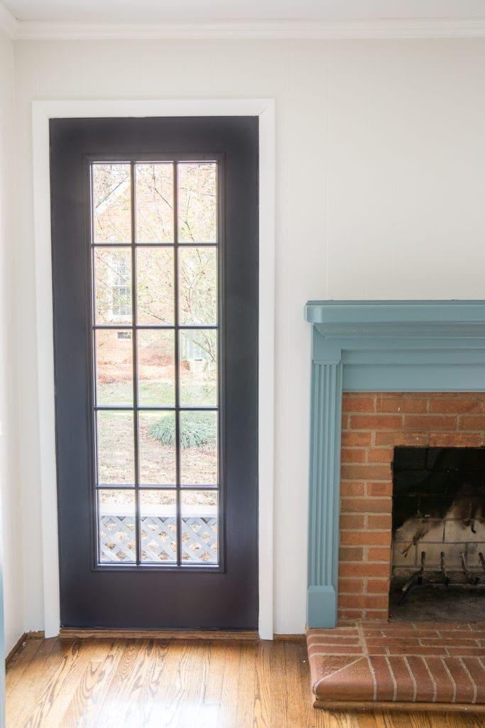 Black Sunroom Doors
