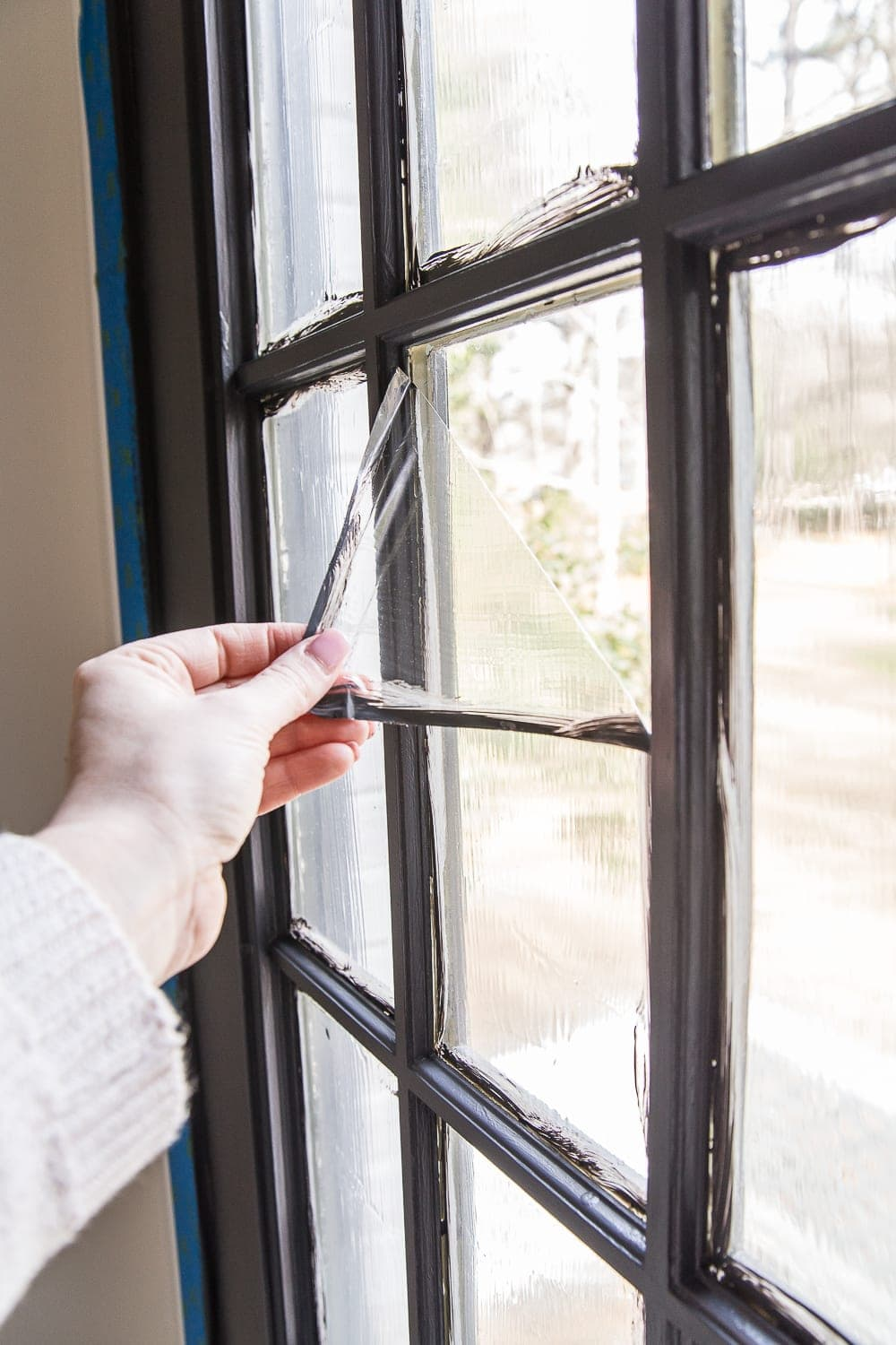 The Best Trick For Painting French Doors | Blesserhouse Com   A Quick Tip  For
