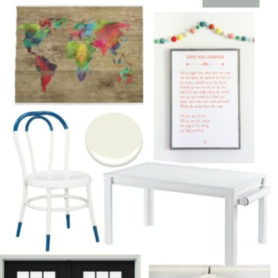Sweet and Simple Playroom Makeover Design Plans