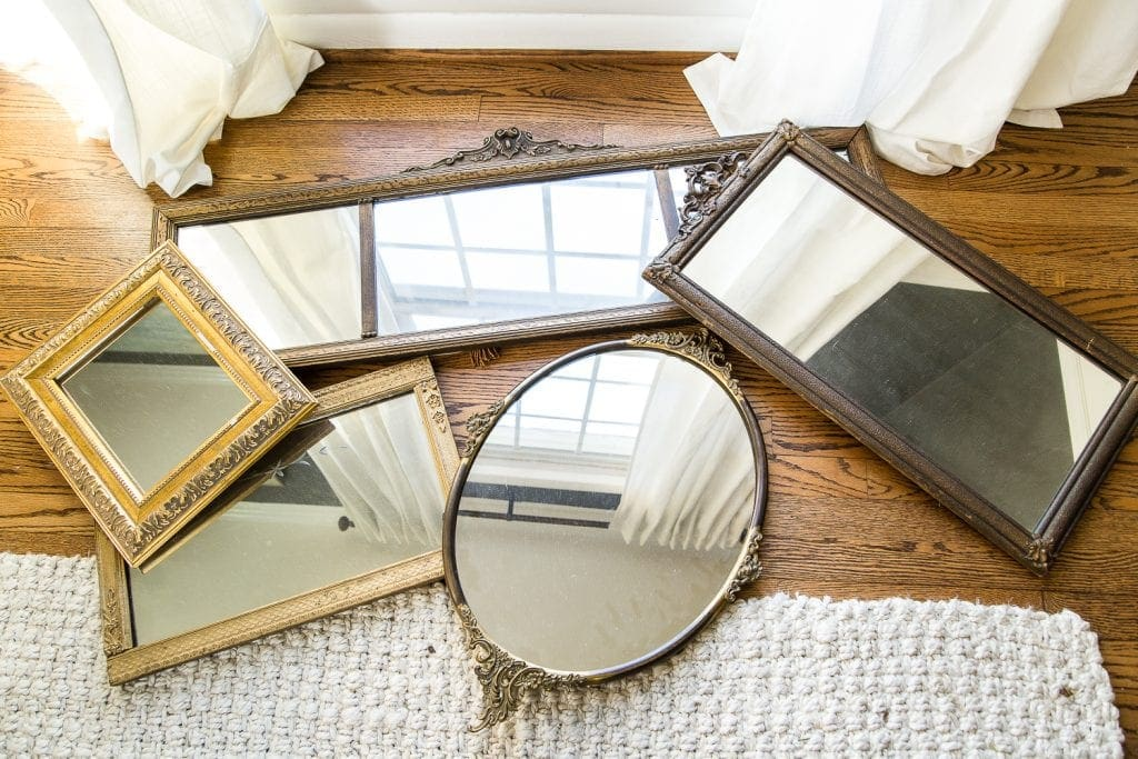 must-have thrift store staple : old mirrors