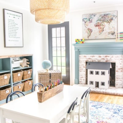 Playroom Makeover Reveal