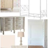 Sweet Pastel Little Girl Bedroom Design