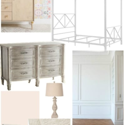 Sweet Pastel Little Girl Bedroom Design