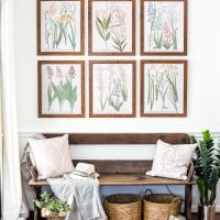 Spring Botanical Gallery Wall Printables