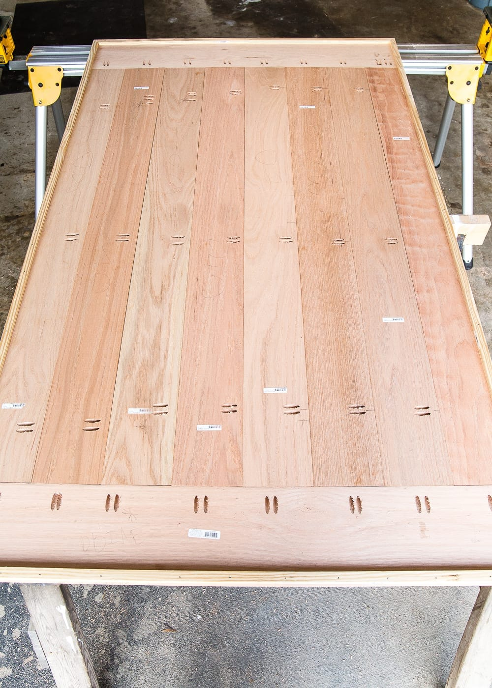 Diy Retrofitted Dining Table Top Bless Er House