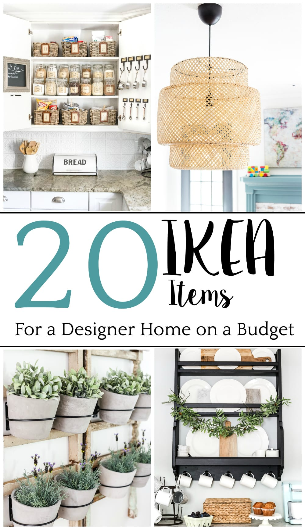 decor and design 38 best farmhouse kitchen decor and design ideas for 2018 The top 20 IKEA items that look high-end for a low price to decorate