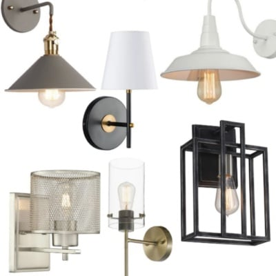 20 Sconce Lights Under $50