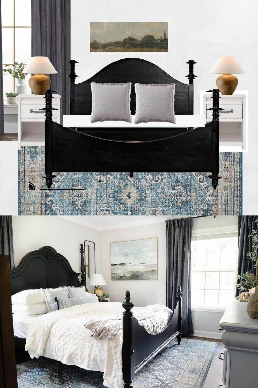 bedroom mood board design