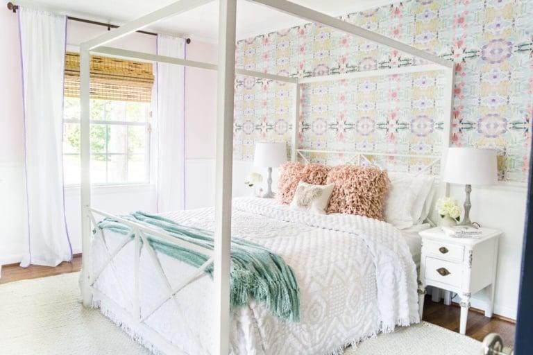 Little Girl Butterfly Bedroom Makeover Reveal
