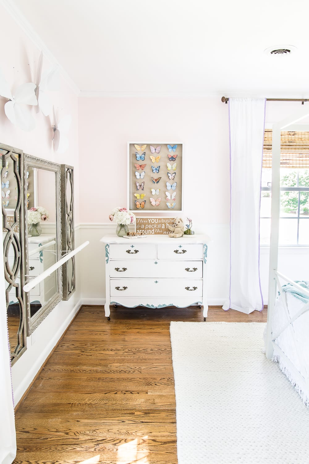Little girl bedroom paint color - Behr My Sweetheart