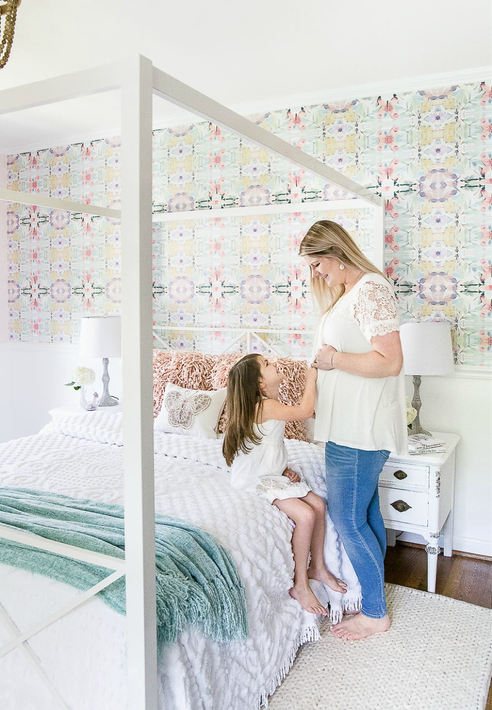 Little Girl Butterfly Bedroom Makeover Reveal - Bless\'er House