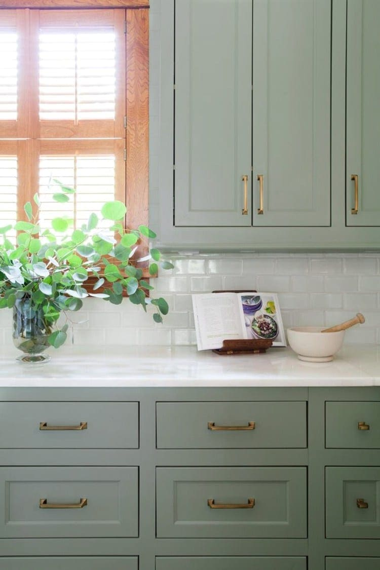 painting kitchen cabinets green green kitchen cabinet inspiration bless er house 4034