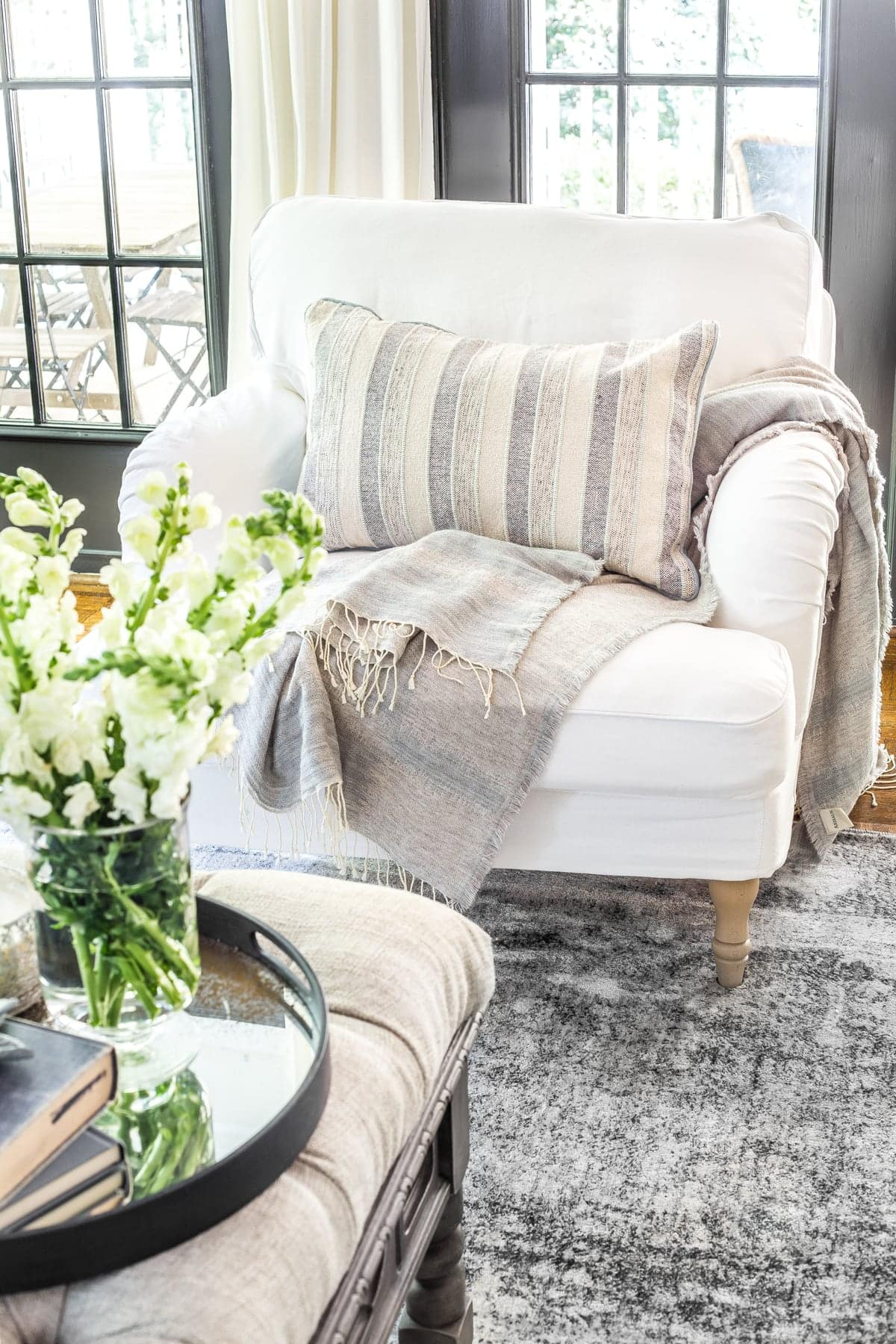 lovely ikea living room | New Slipcovers for the IKEA Living Room Furniture - Bless ...
