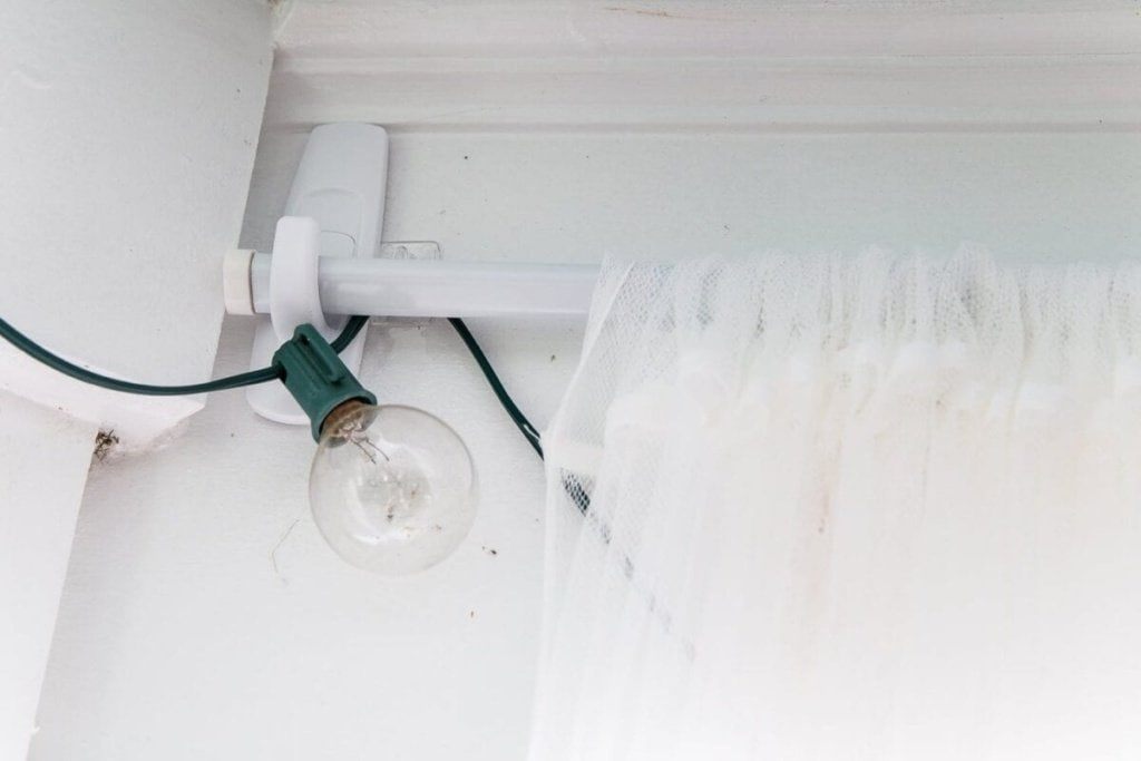 how to hang curtain rods without damaging your walls