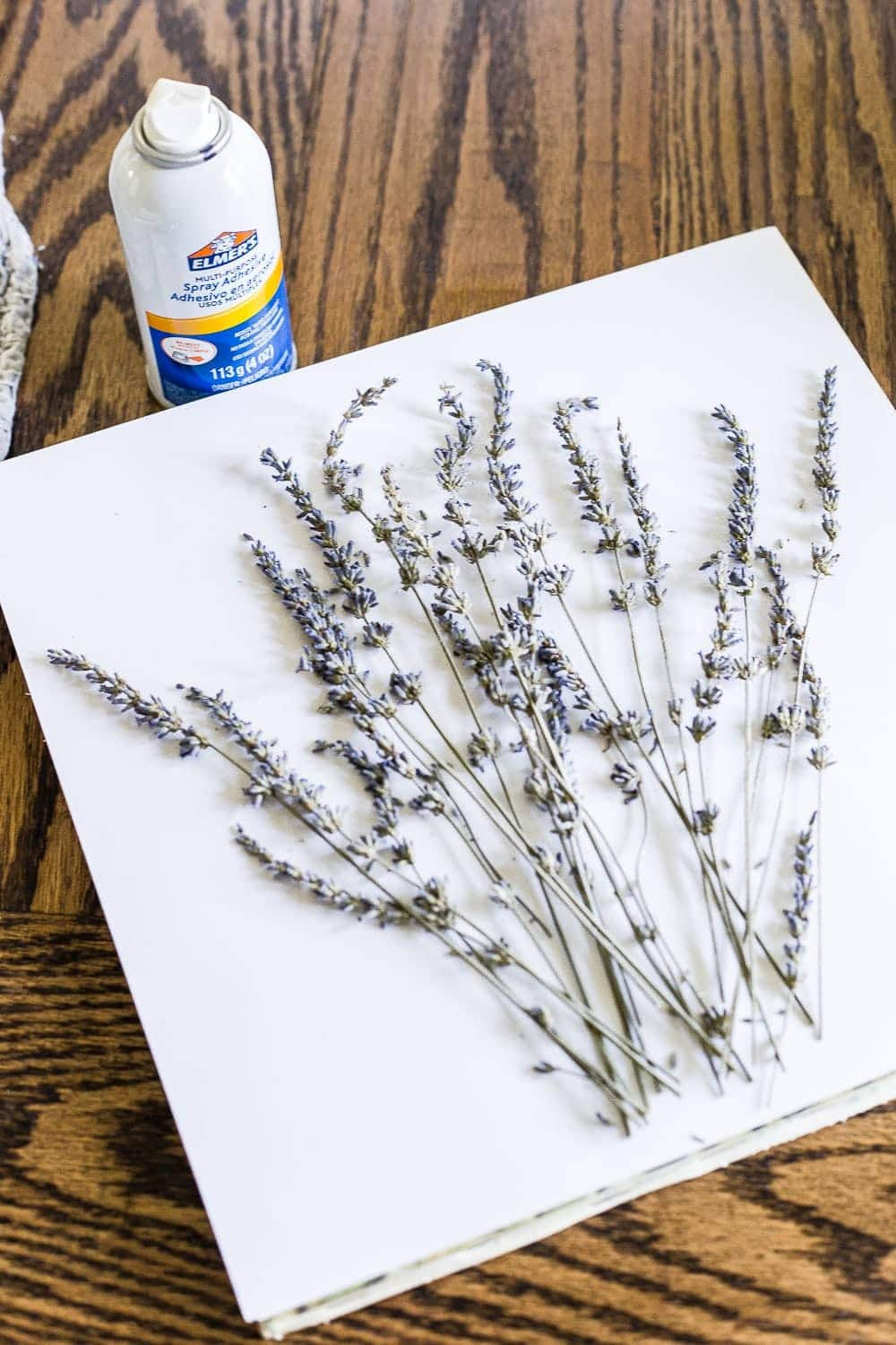 How to turn lavender stems into art