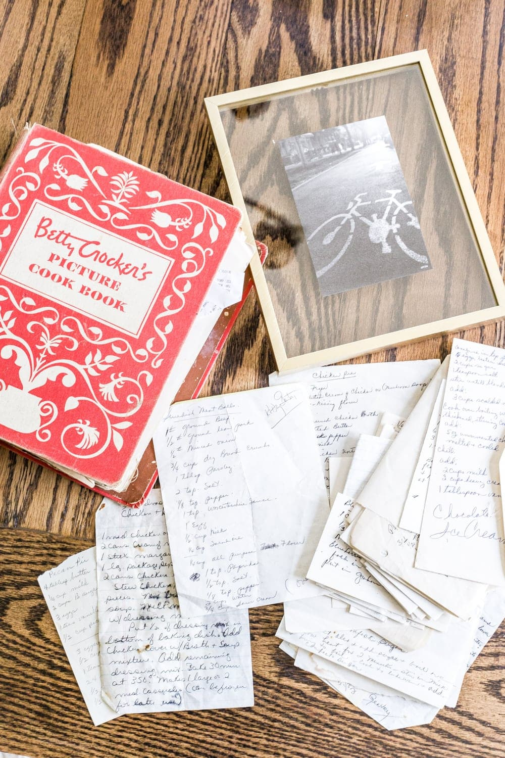 How to Preserve and Frame Handwritten Recipes and Letters - Bless\'er ...