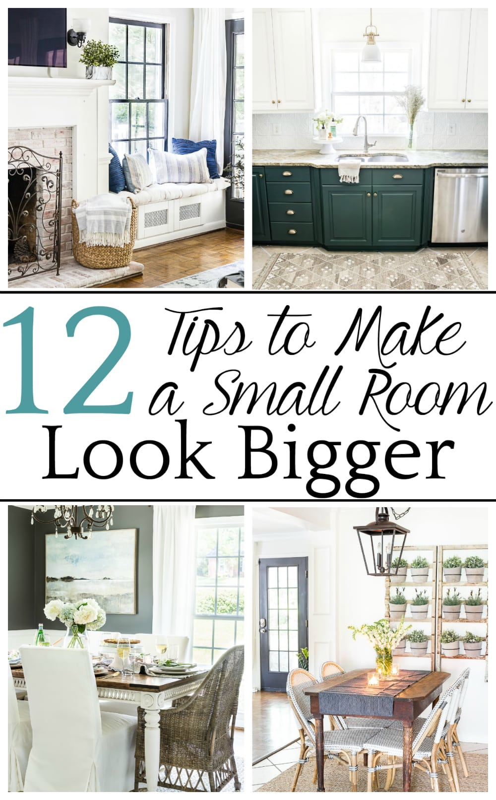How to Make a Small Room Look Bigger - Bless\'er House