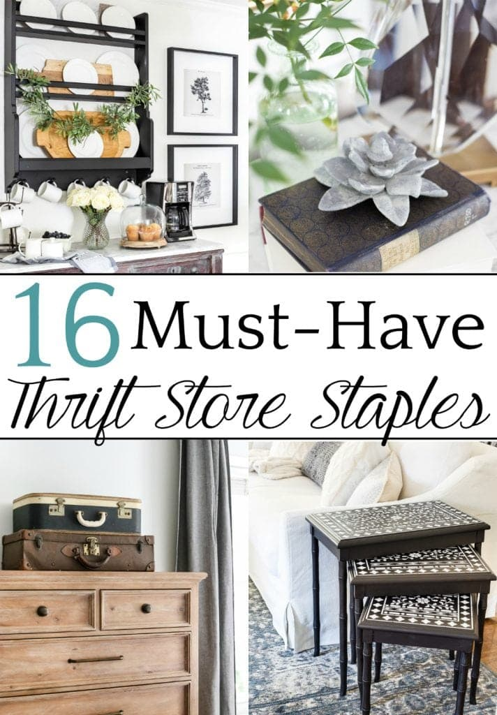 Captivating A Round Up Of 16 Of The Most Common Thrift Store Staples That Can Be
