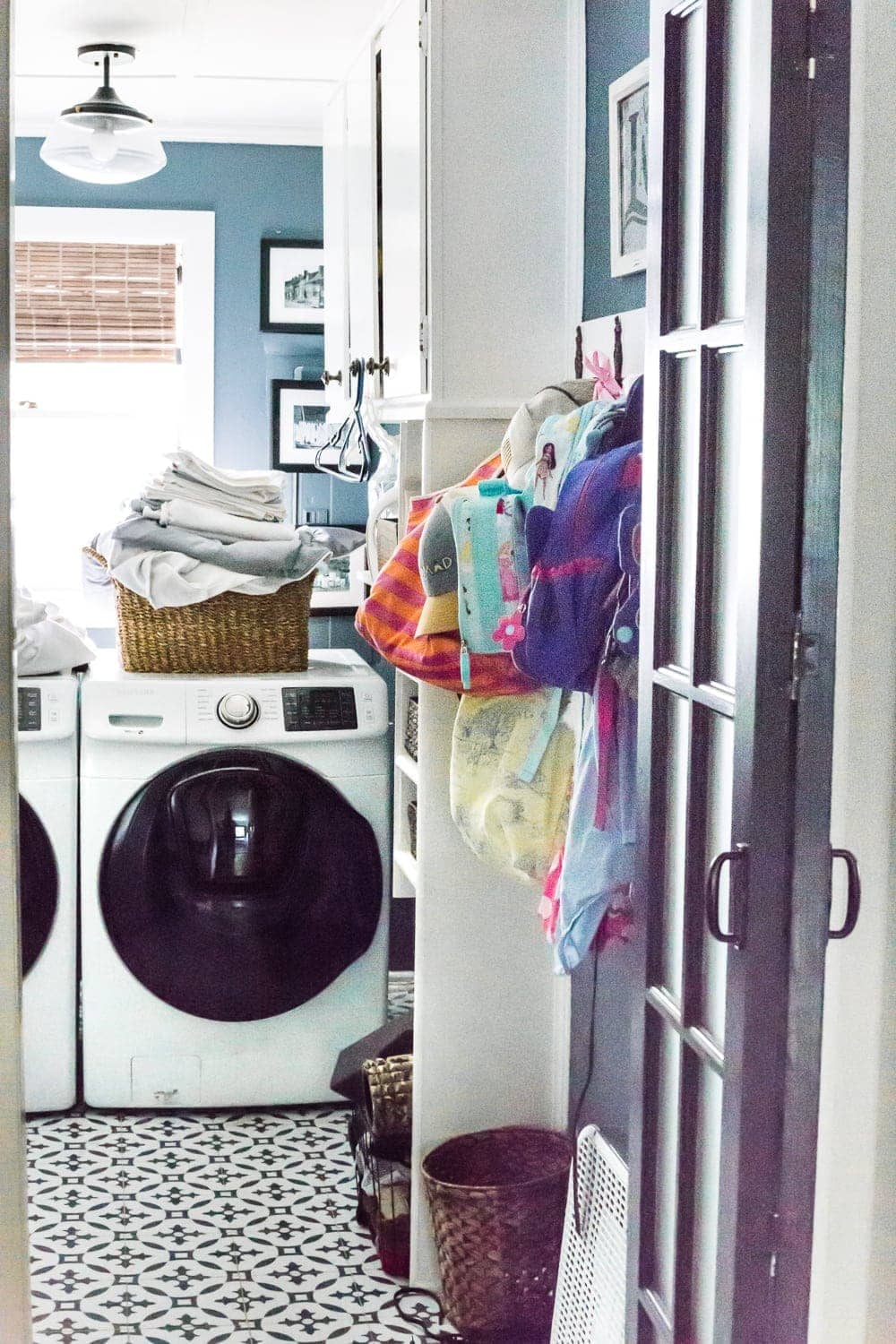 Real life laundry room