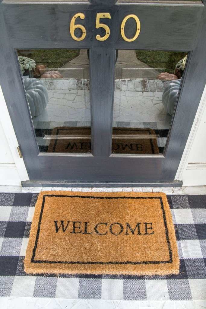 A home decor shopping guide with 28 of the most hilarious, entertaining, and cheeky welcome mats to add personality to your porch or entryway. #welcomemat