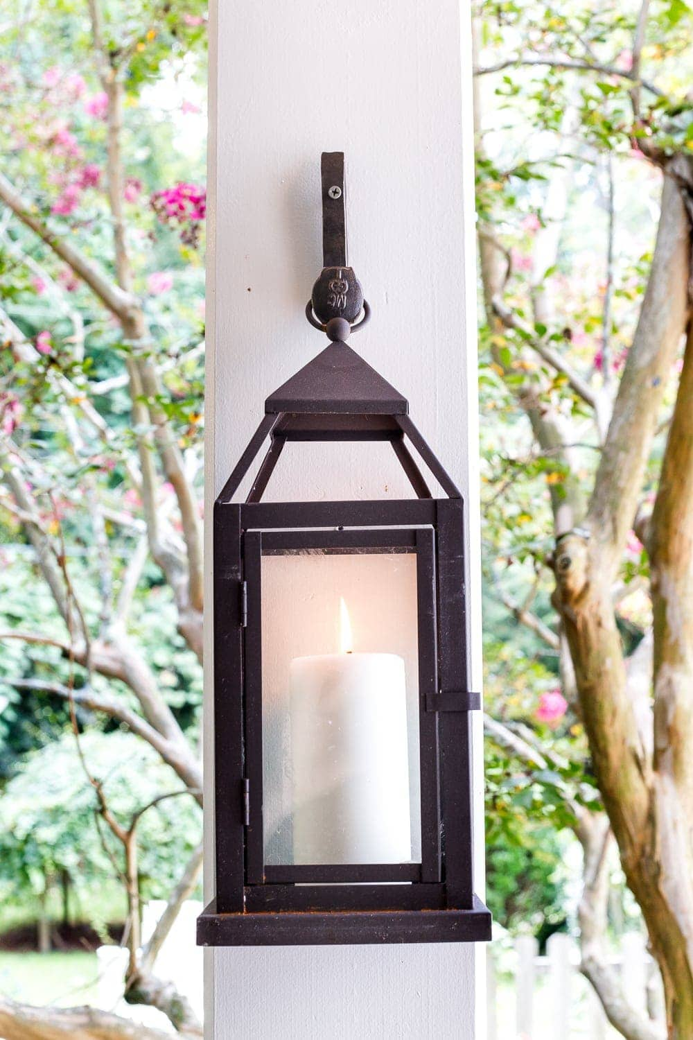 lanterns with railroad spike forged hooks