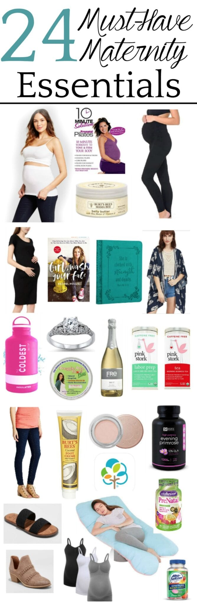 24 tried and true maternity must-haves with fashion, health, beauty, and wellness essentials to make pregnancy easier