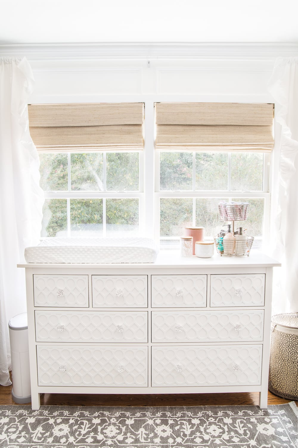 Nursery Organization | Dresser drawers