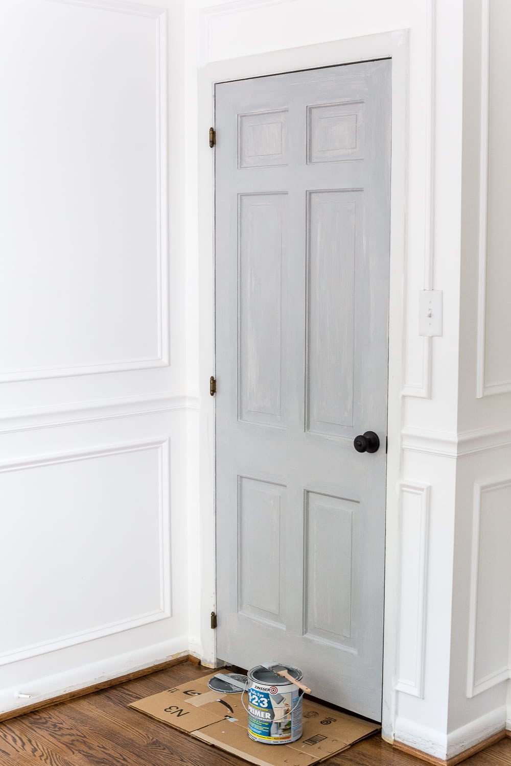 How to paint interior doors bless 39 er house - Interior painting ideas pinterest ...