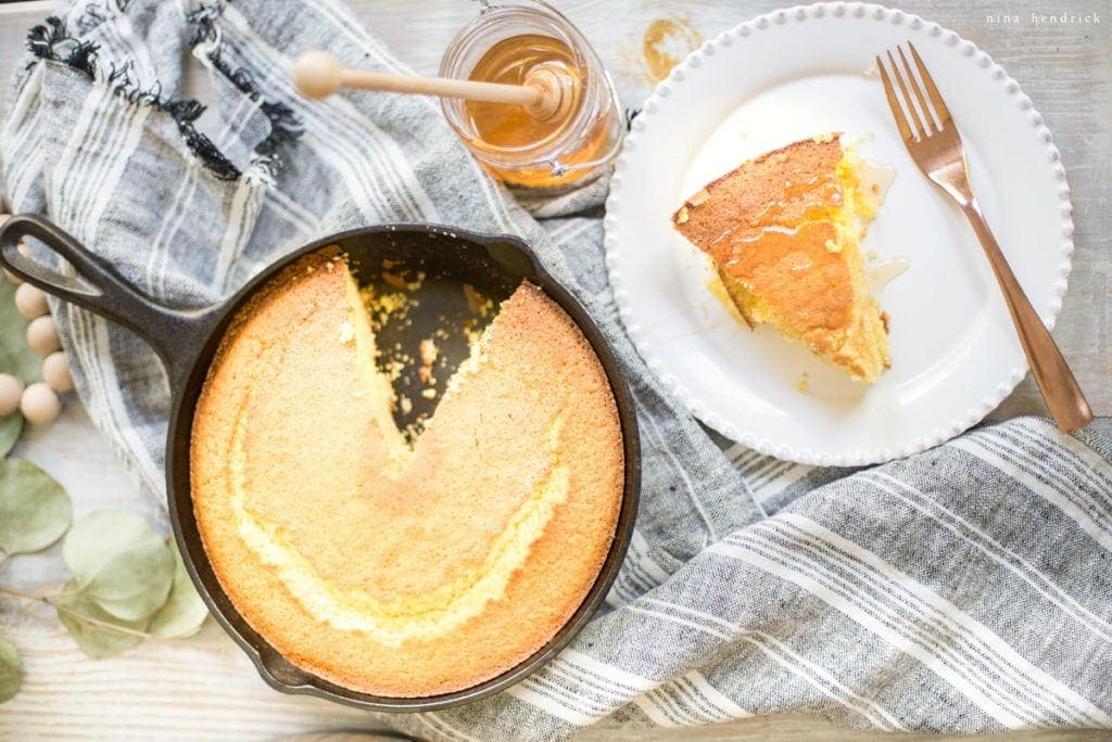5 Ideas for Creative Thanksgiving Entertaining | Sweet Cornbread Recipe