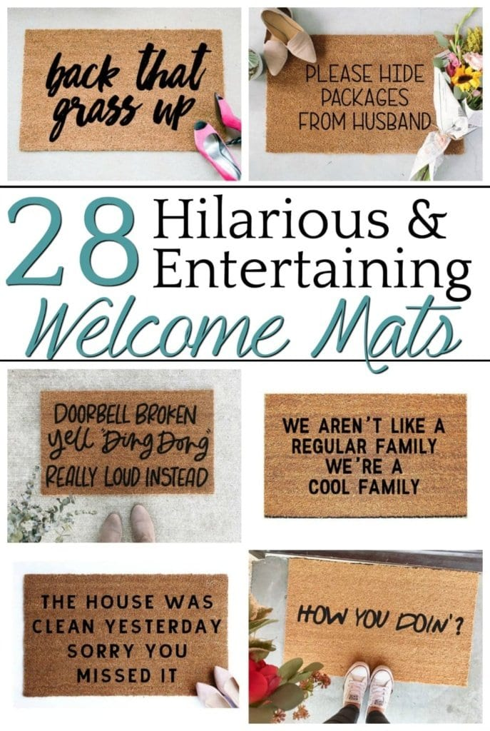 60944ebc2d498 28 Entertaining Welcome Mats for Your Home - Bless'er House