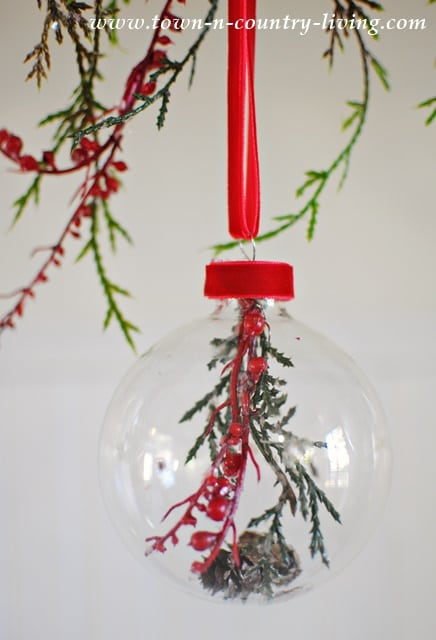 DIY Glass Ball Christmas Ornaments