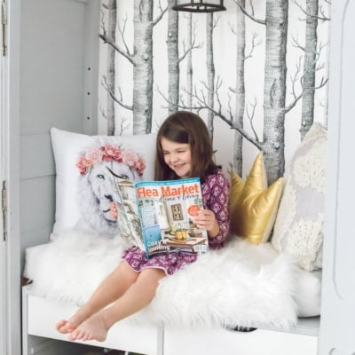 Flea Market Home and Living Reading Nook Feature