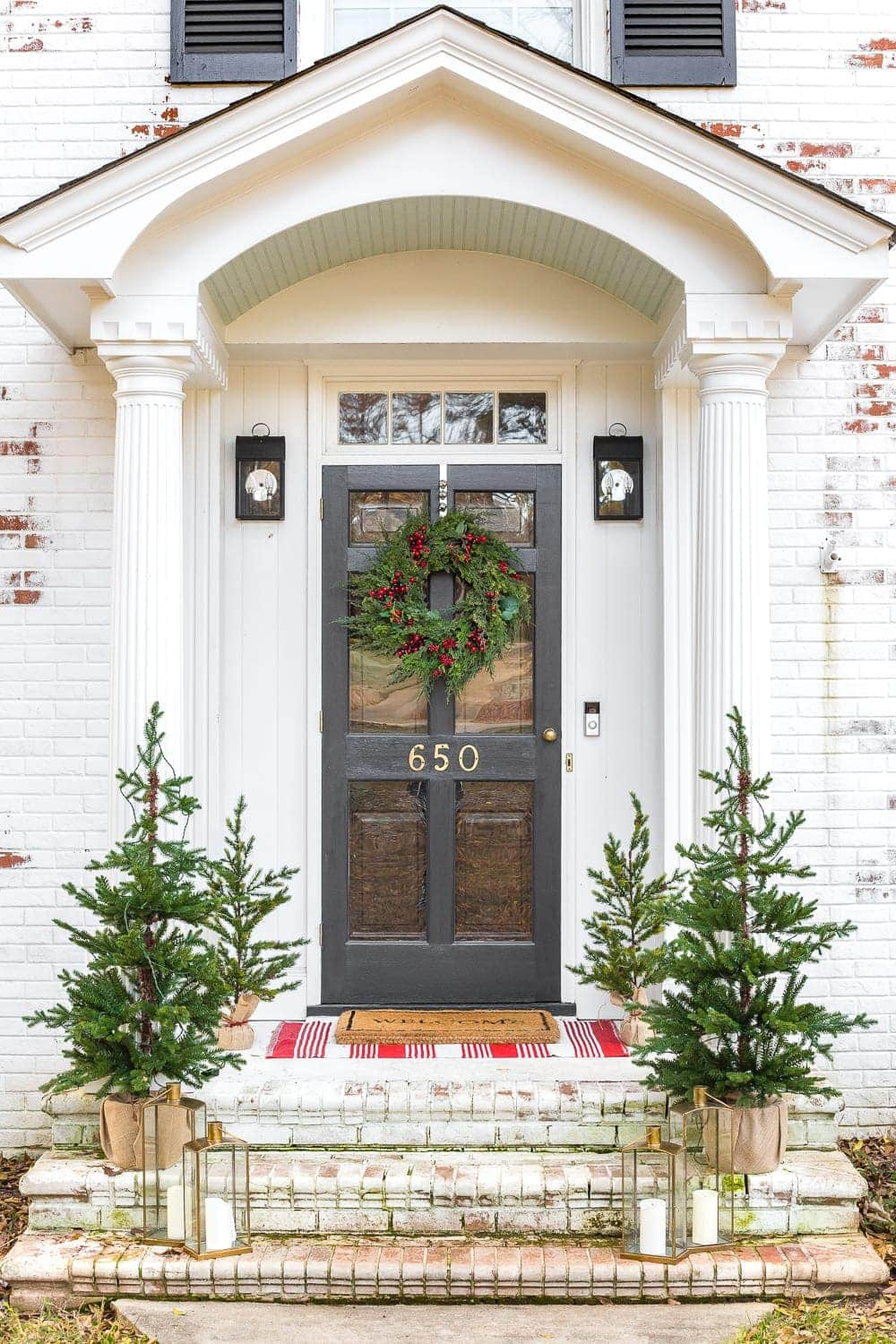 Colonial Christmas Outdoor Wreath Decor Giveaway Bless Er House