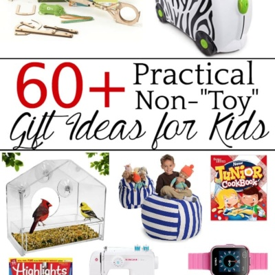 60+ Gift Ideas for Kids That Aren't Toys