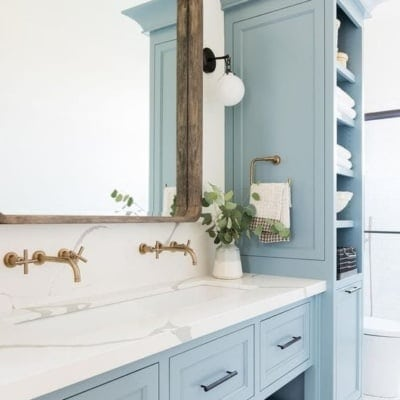 Master Bathroom Refresh Plans and Mood Board
