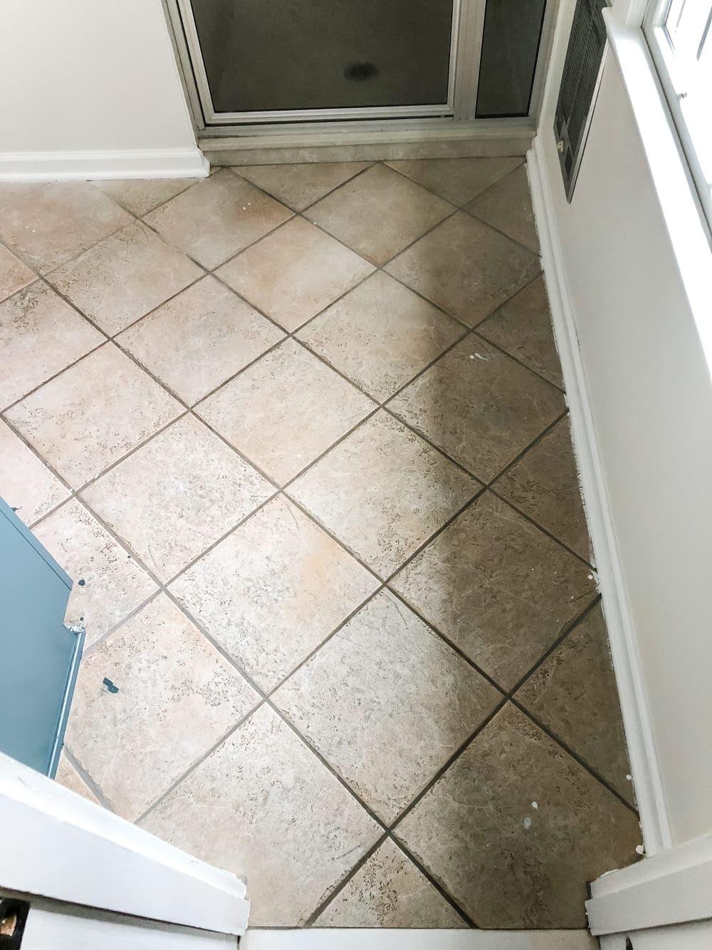 How To Install Sheet Vinyl Flooring Over Tile Bless Er House