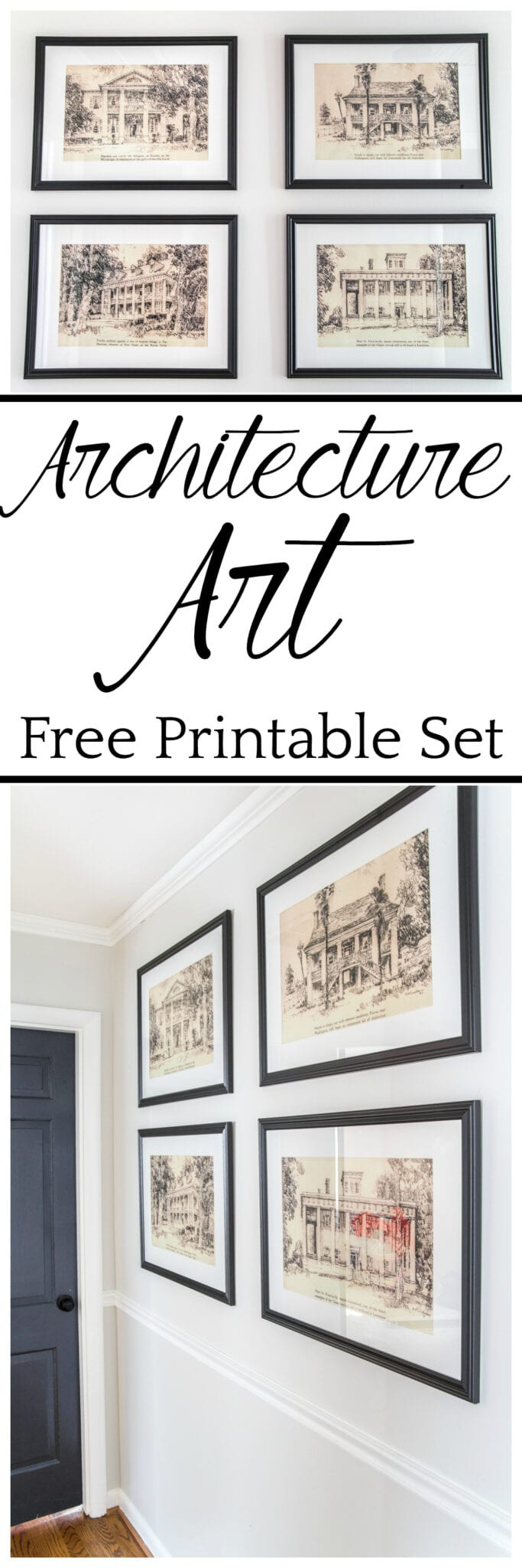 photograph about Free Printable Artwork to Frame named Architectural Printable Artwork - Blesser Property