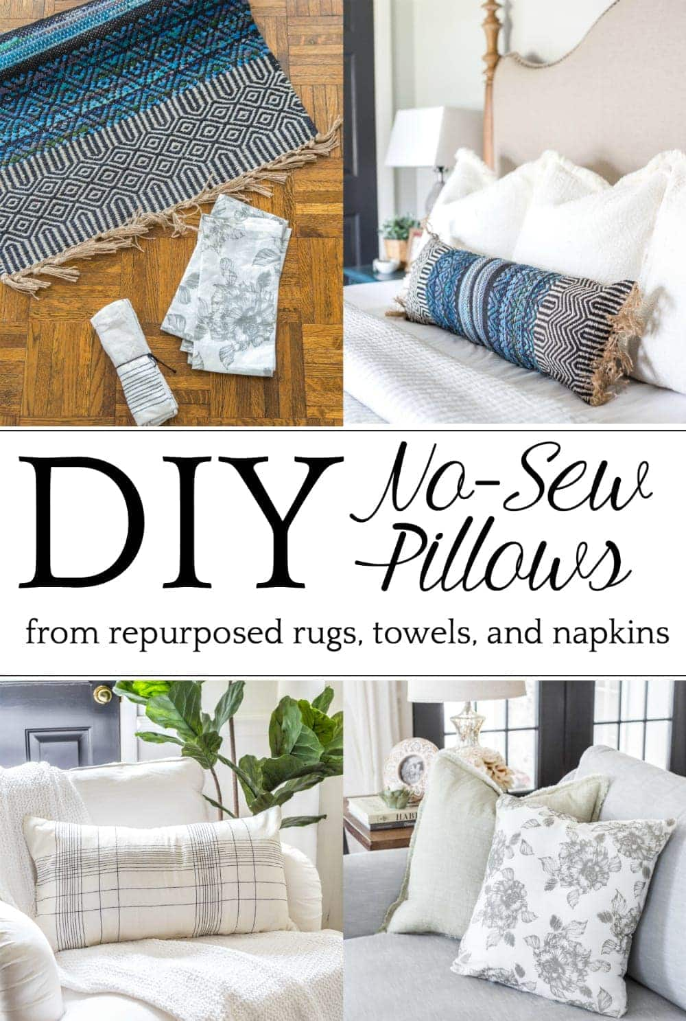 Swell 3 Items You Can Repurpose Into Diy Throw Pillows Blesser Inzonedesignstudio Interior Chair Design Inzonedesignstudiocom