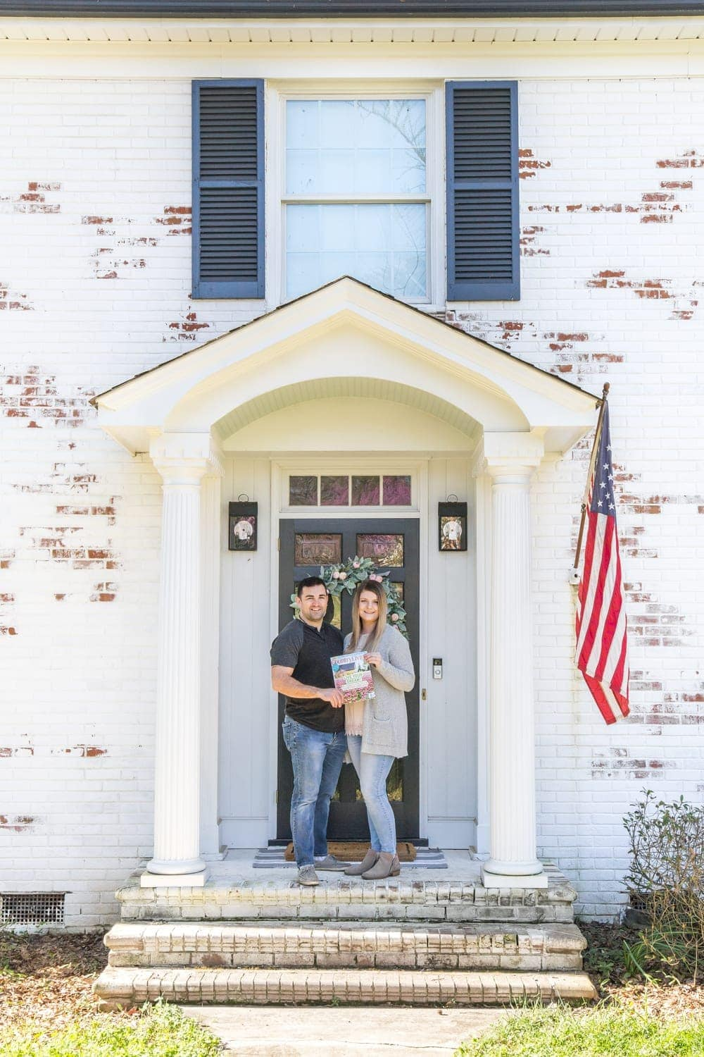 FAQs About Our Limewashed Brick   All of our frequently asked questions about our limewashed brick concerning neighbors' opinions, trends, DIY-ability, and why we chose it over paint. #limewash #brickexterior #limewashedbrick #brickpaint #paintedbrick #exteriormakeover #curbappeal #brickhouse