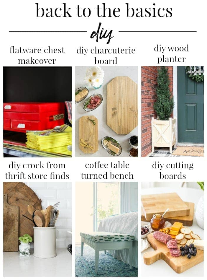Back to Basics DIY Ideas