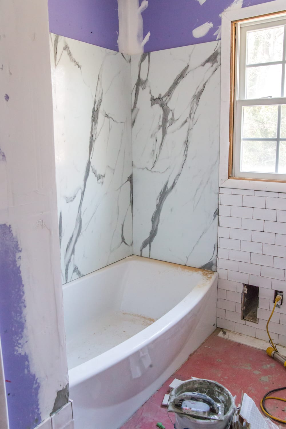 Kids' Bathroom Progress with American Standard Passage Collection