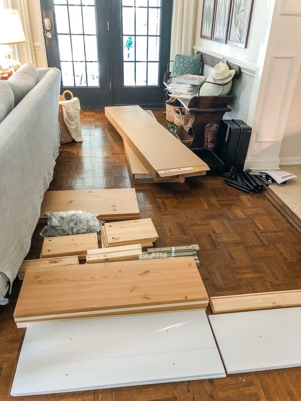 DIY IKEA Hemnes Pantry Cabinet   blesserhouse.com