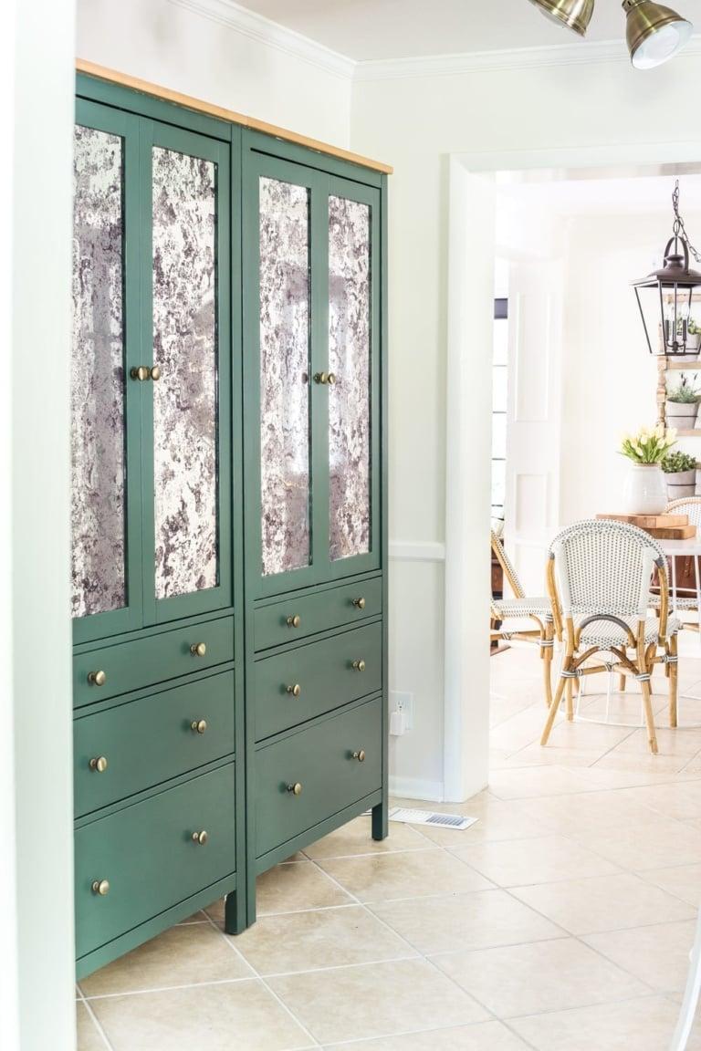 DIY IKEA Pantry Cabinet using Hemnes