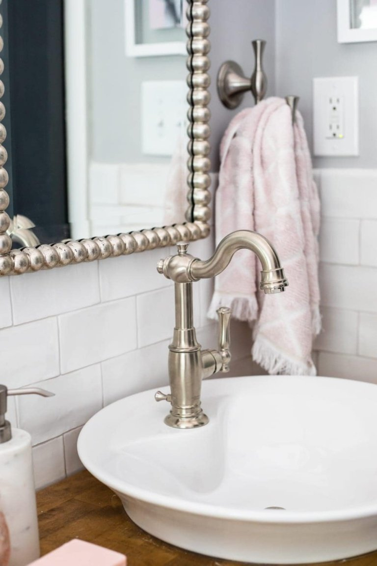 Girls Bathroom Decor Details and Sources